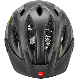 MET Crossover Helmet black safety yellow